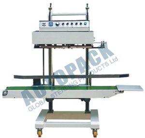 Continuous Band Sealing Machine For Heavy Bags Pouches